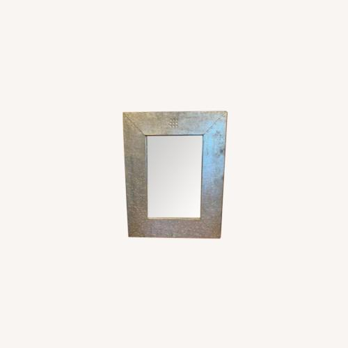 Used CISCO Brothers Hammered Metal Mirror for sale on AptDeco