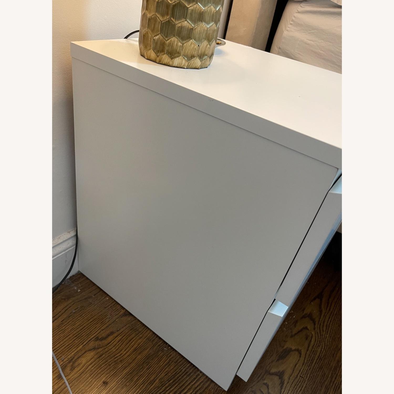 IKEA Malm White Nightstand - image-4