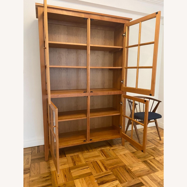 Room & Board Adams Glass Door Cabinet in Cherry - image-3