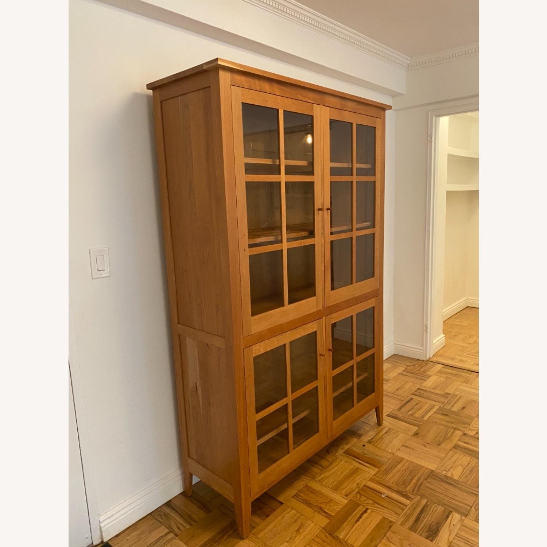 Room & Board Adams Glass Door Cabinet in Cherry - image-6