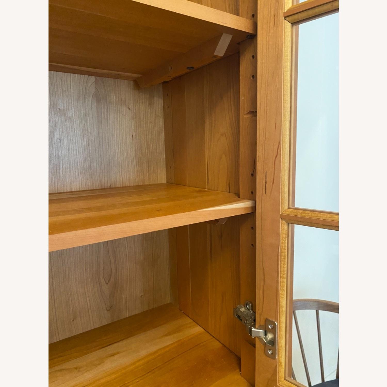Room & Board Adams Glass Door Cabinet in Cherry - image-4
