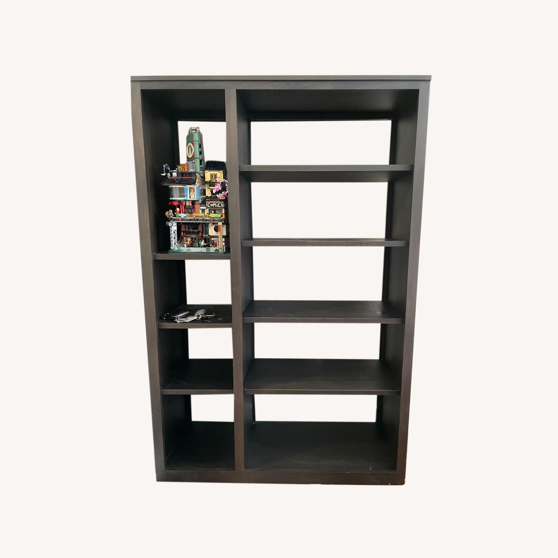 Woodwind 48w 17d 72h Double Open-Back Bookcase - image-0