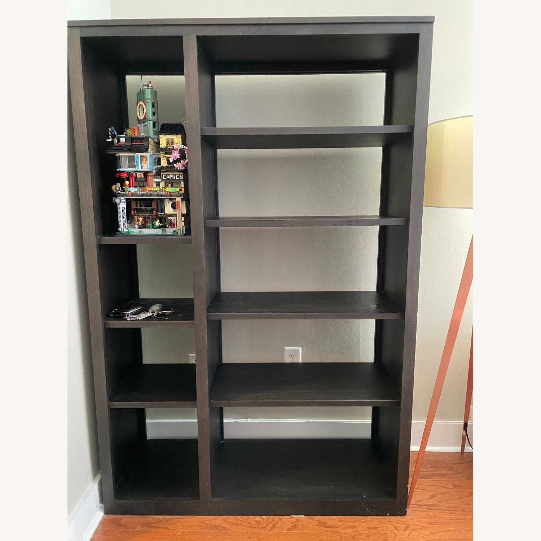 Woodwind 48w 17d 72h Double Open-Back Bookcase - image-1