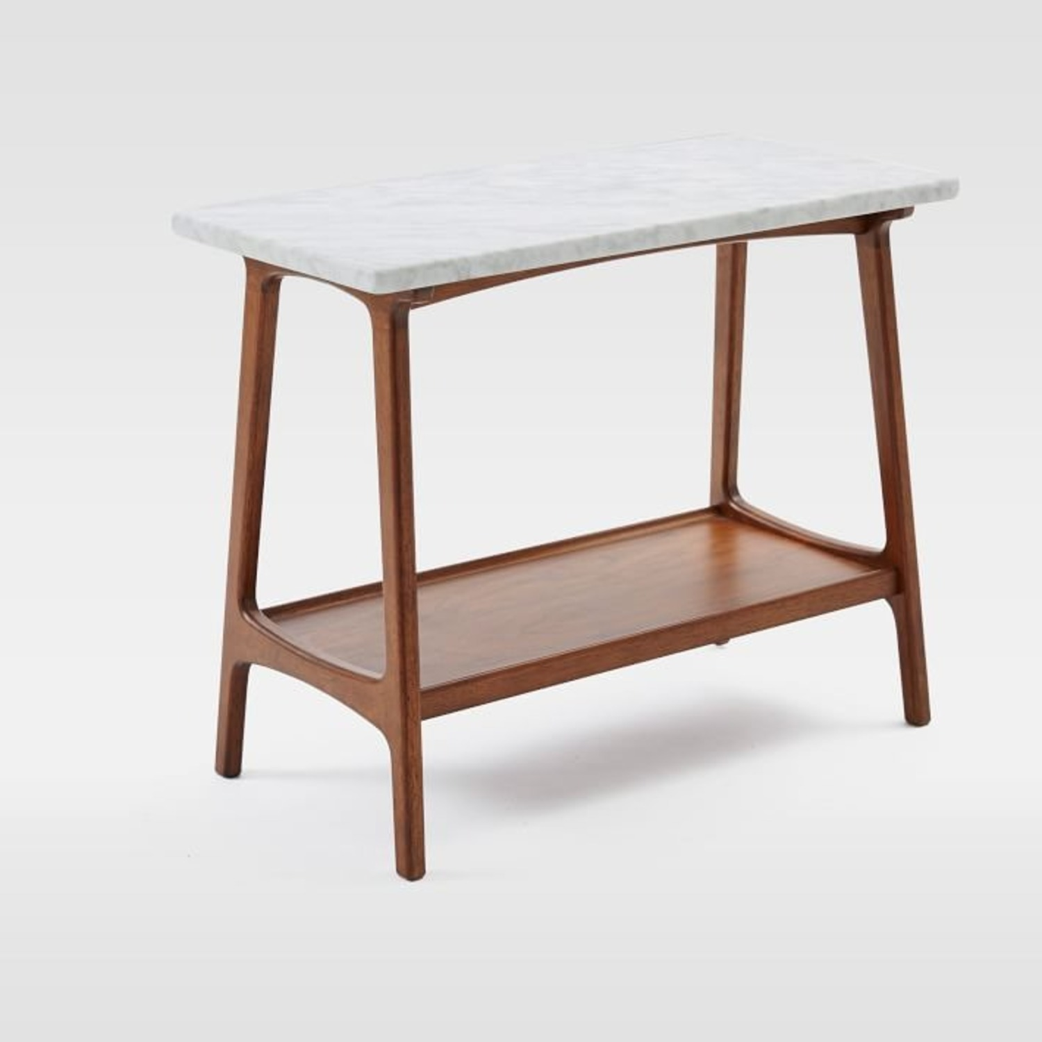 West Elm Reeve Side Table Long Narrow - image-0
