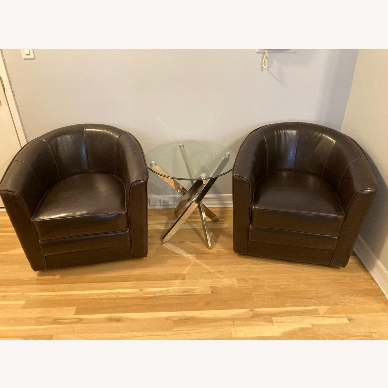 Keller International Swivel Club Chairs - image-1