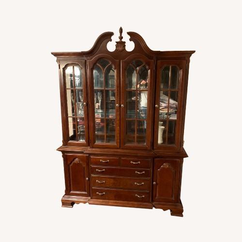 Used Lexington Furniture Two Piece Break Front for sale on AptDeco