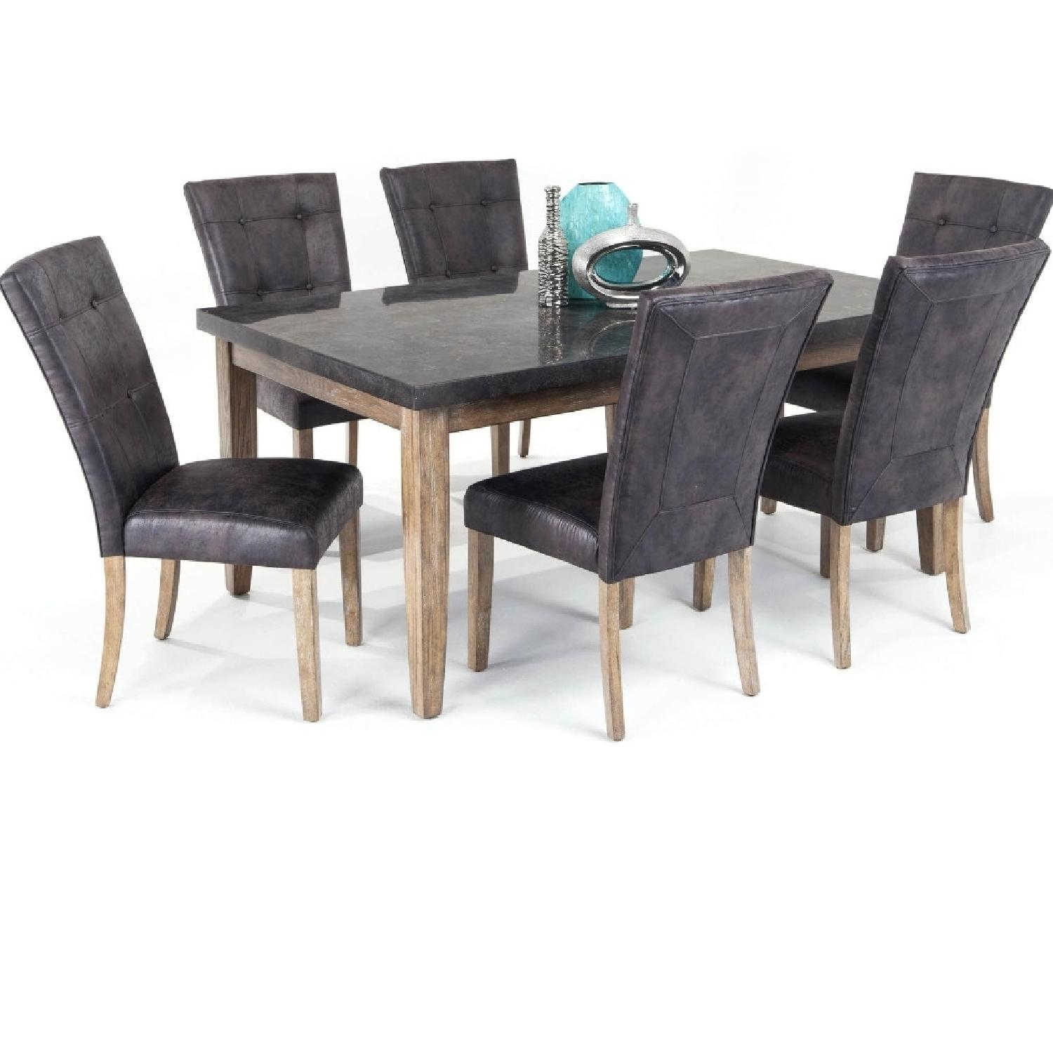 Bob's Discount Granite Table Dining Set with 6 Chairs - image-7