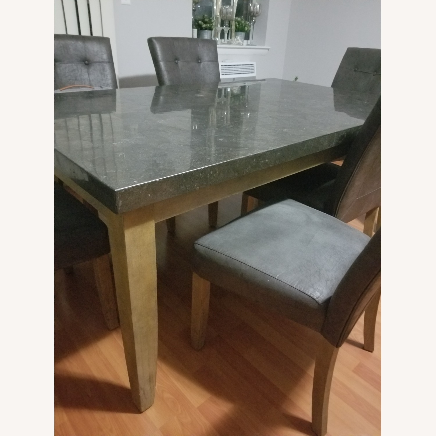 Bob's Discount Granite Table Dining Set with 6 Chairs - image-3