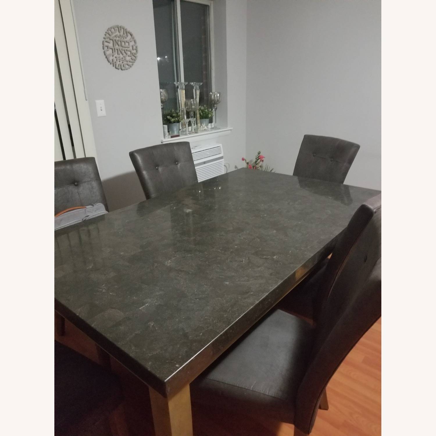 Bob's Discount Granite Table Dining Set with 6 Chairs - image-1