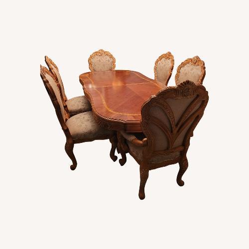 Used Michael Amini Dining Room Set for sale on AptDeco