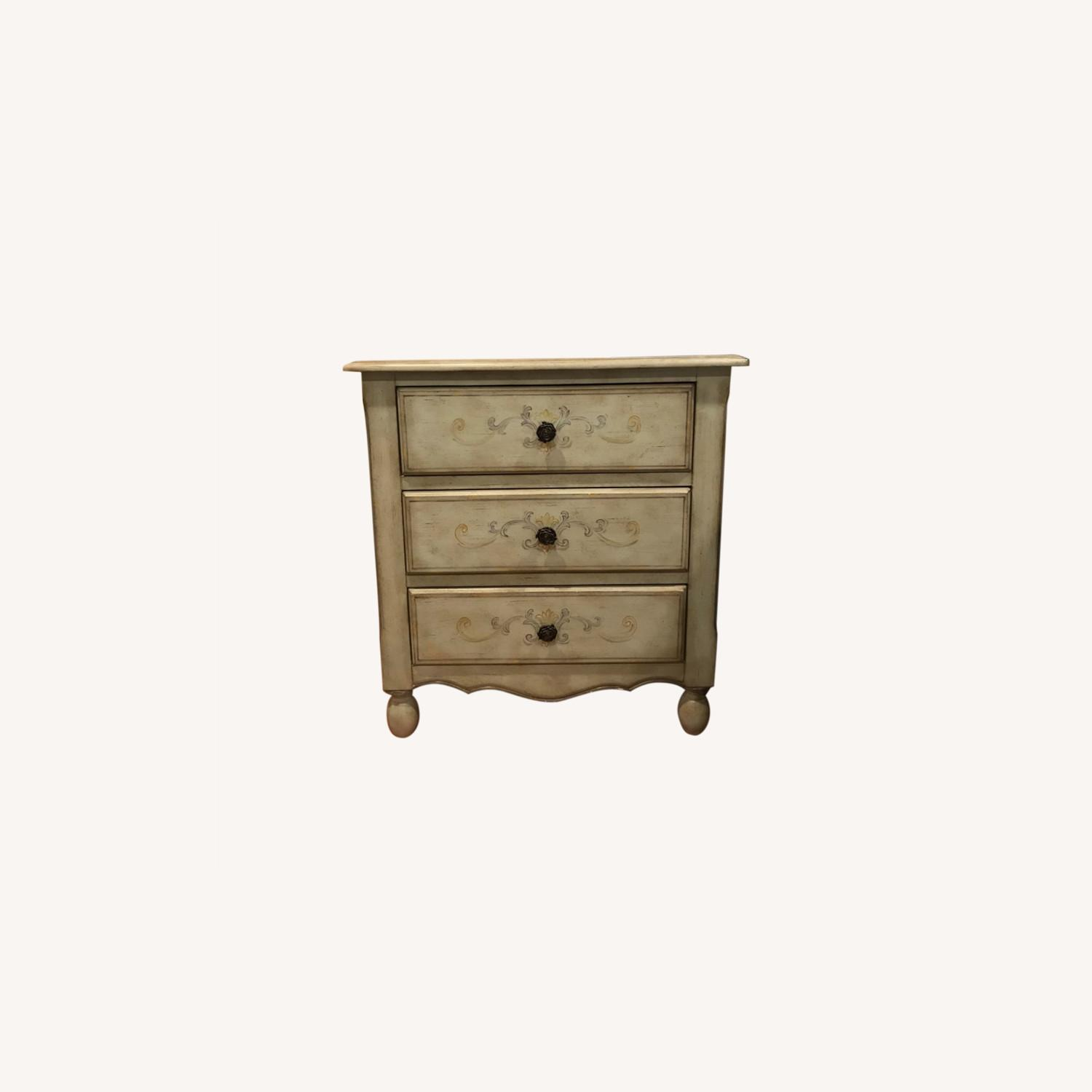 Fortunoff Country-Style Nightstand - image-0