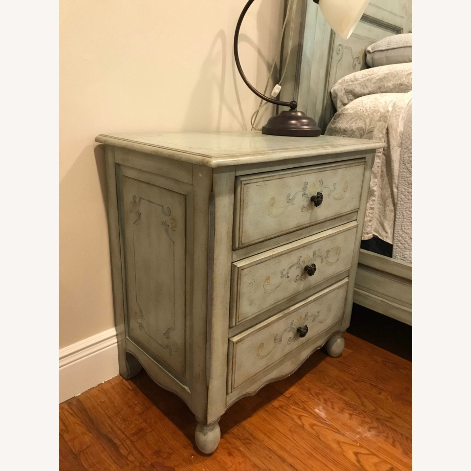 Fortunoff Country-Style Nightstand - image-1