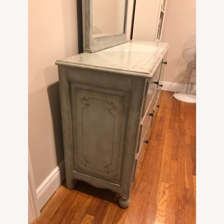 Fortunoff 6 Drawer Dresser with Mirror - image-4