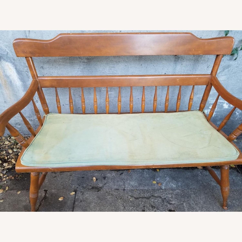 Ethan Allen Deacon's Bench - image-1