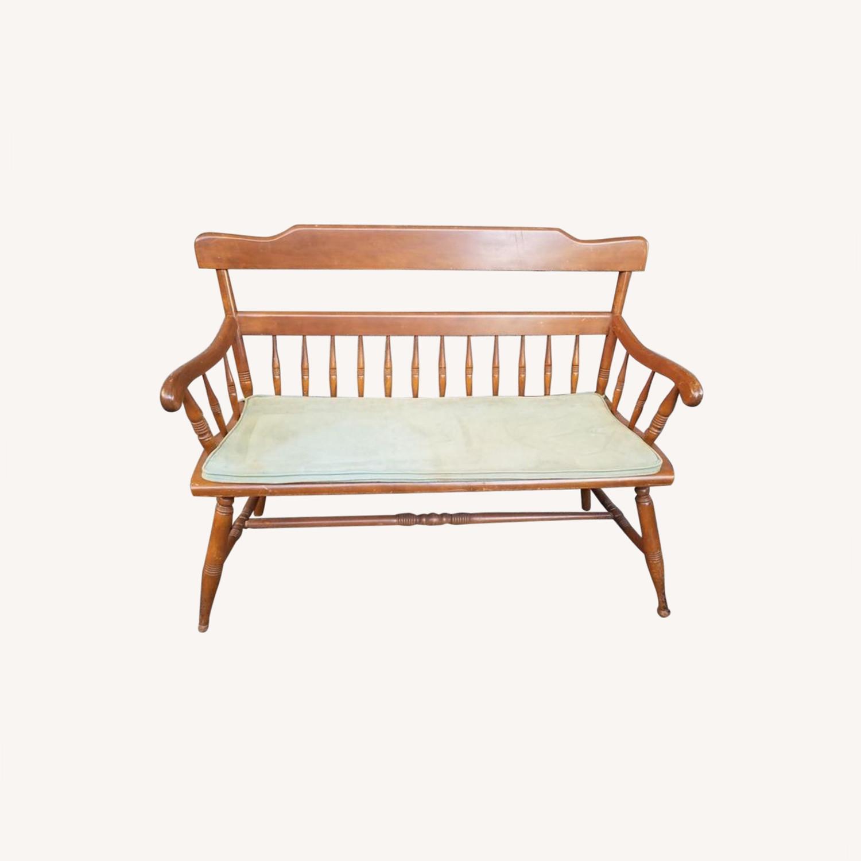 Ethan Allen Deacon's Bench - image-0