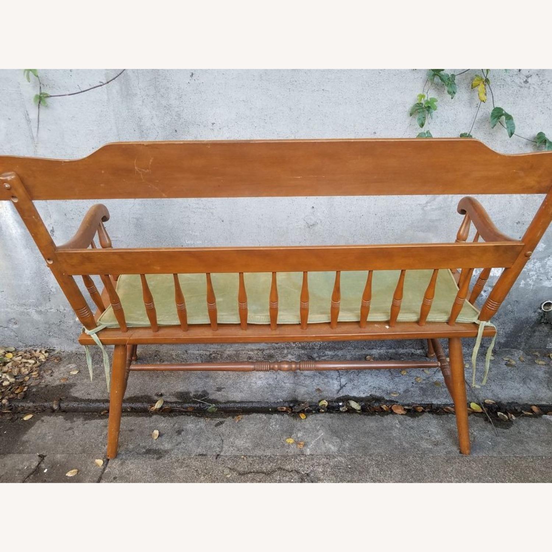 Ethan Allen Deacon's Bench - image-5