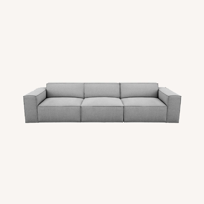 Modani Kobe 3 Seater Sofa Light Gray - image-0