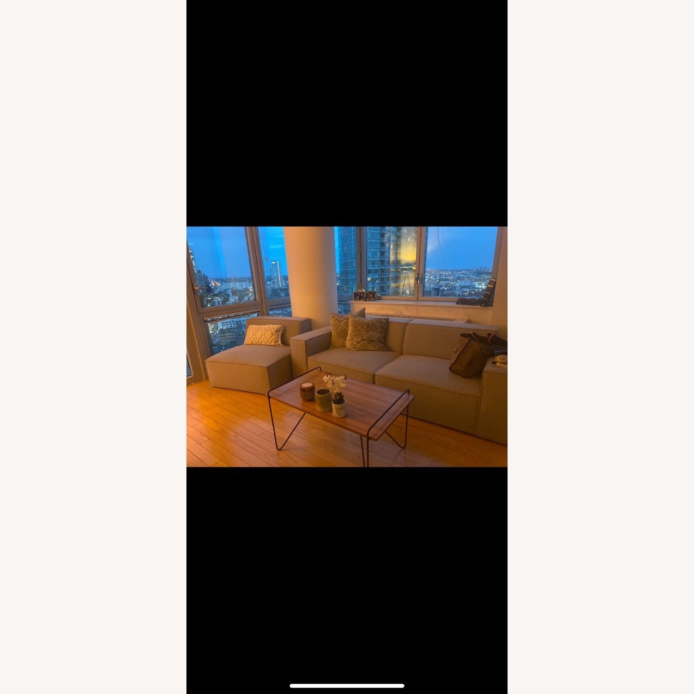 Modani Kobe 3 Seater Sofa Light Gray - image-2