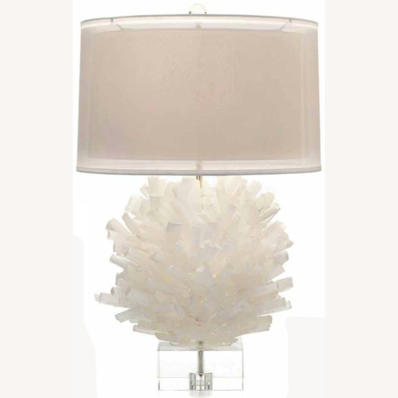 John Richard Selenite Table Lamp - image-2