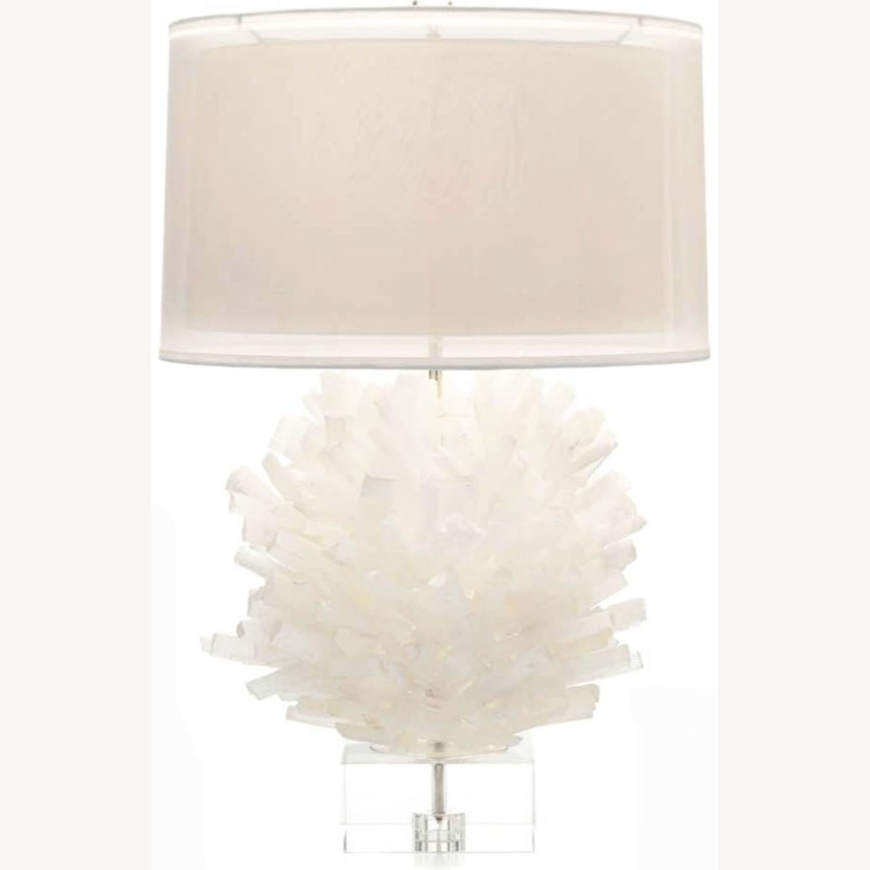 John Richard Selenite Table Lamp - image-3