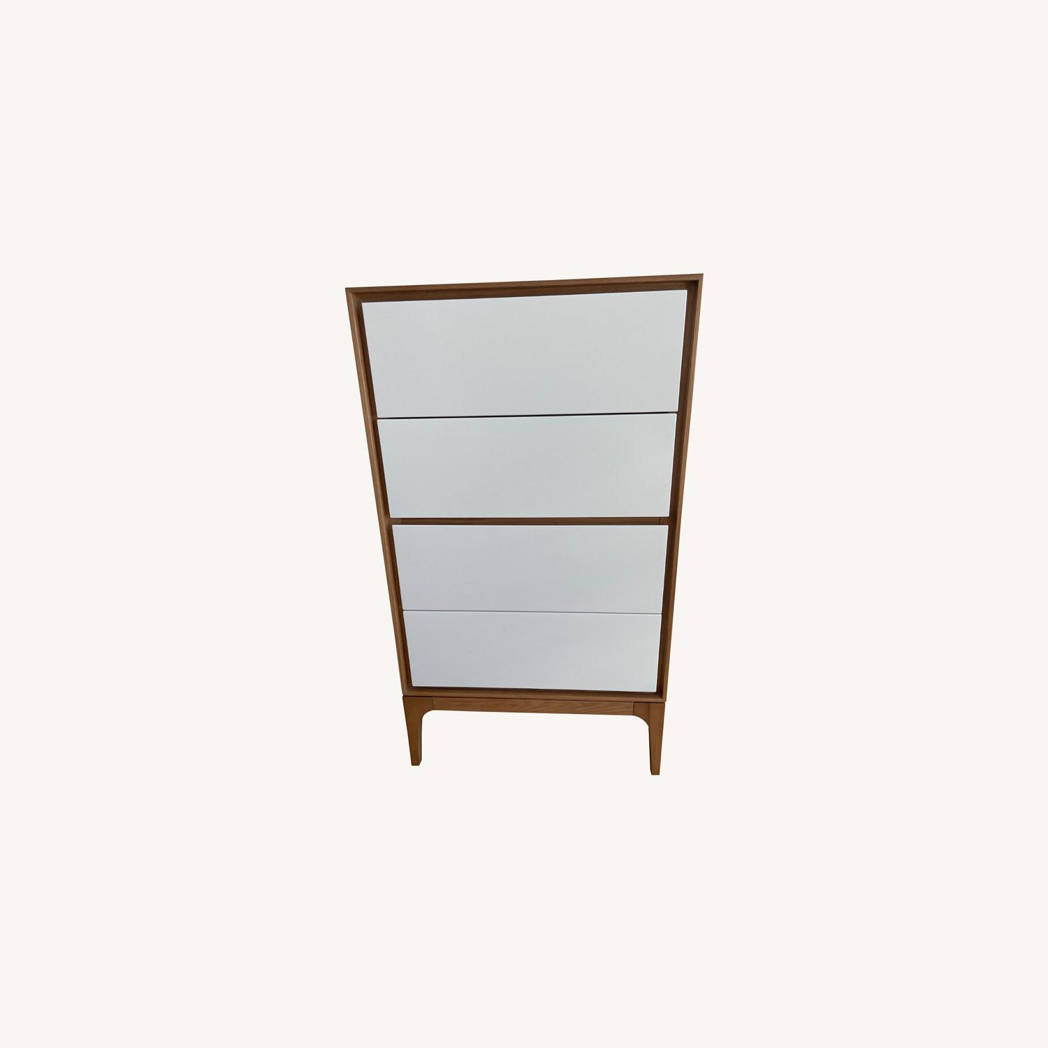 Rove Concepts 2X Wooden Dressers with White Drawers - image-0