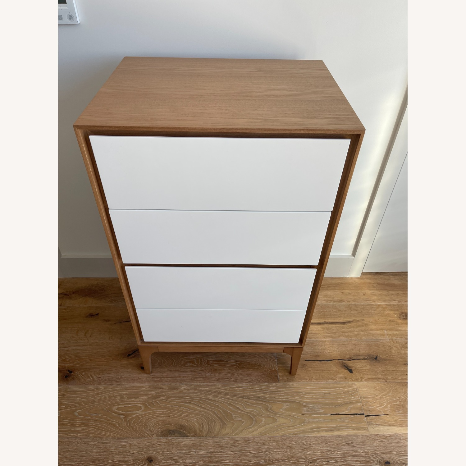 Rove Concepts 2X Wooden Dressers with White Drawers - image-2