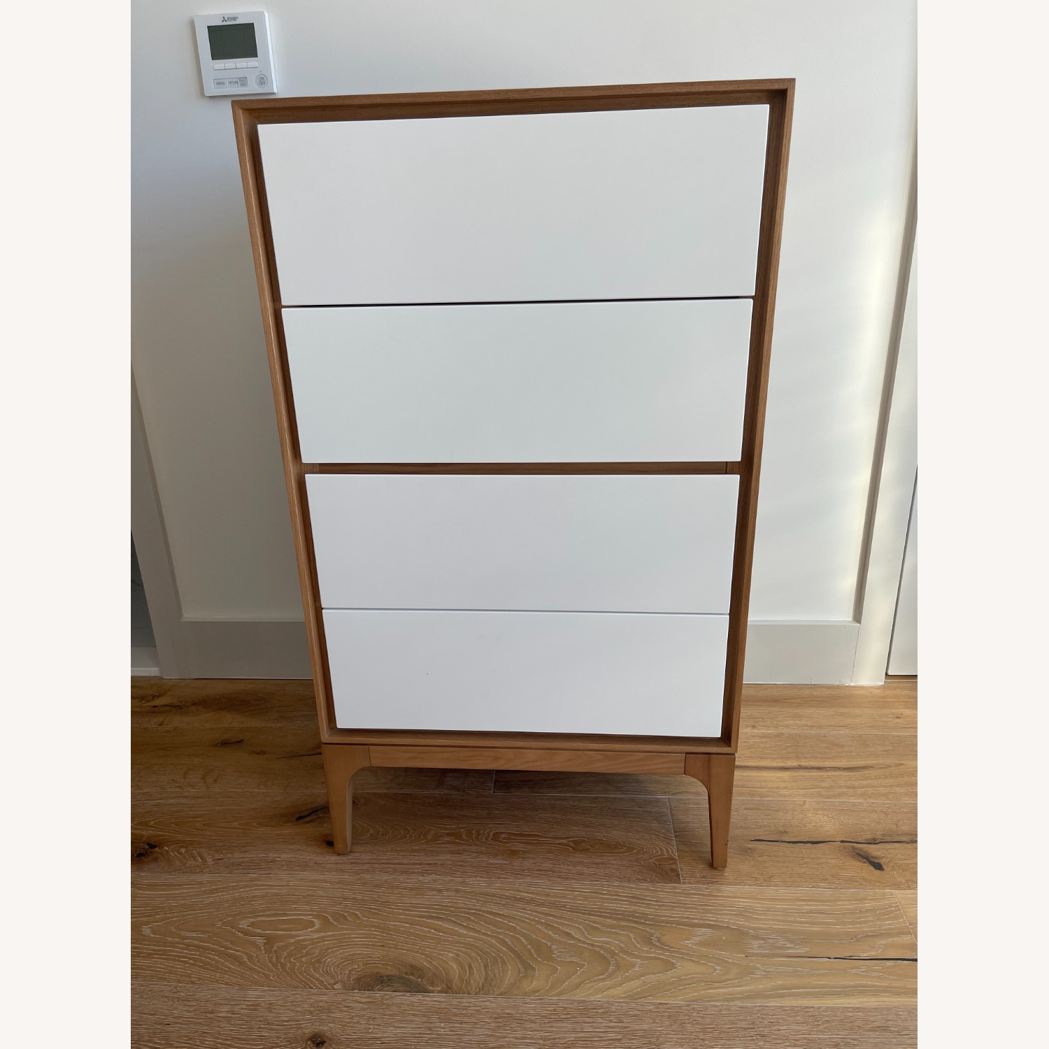 Rove Concepts 2X Wooden Dressers with White Drawers - image-1