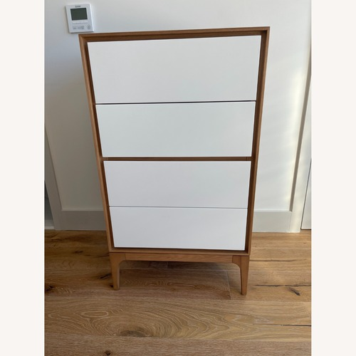 Used Rove Concepts 2X Wooden Dressers with White Drawers for sale on AptDeco