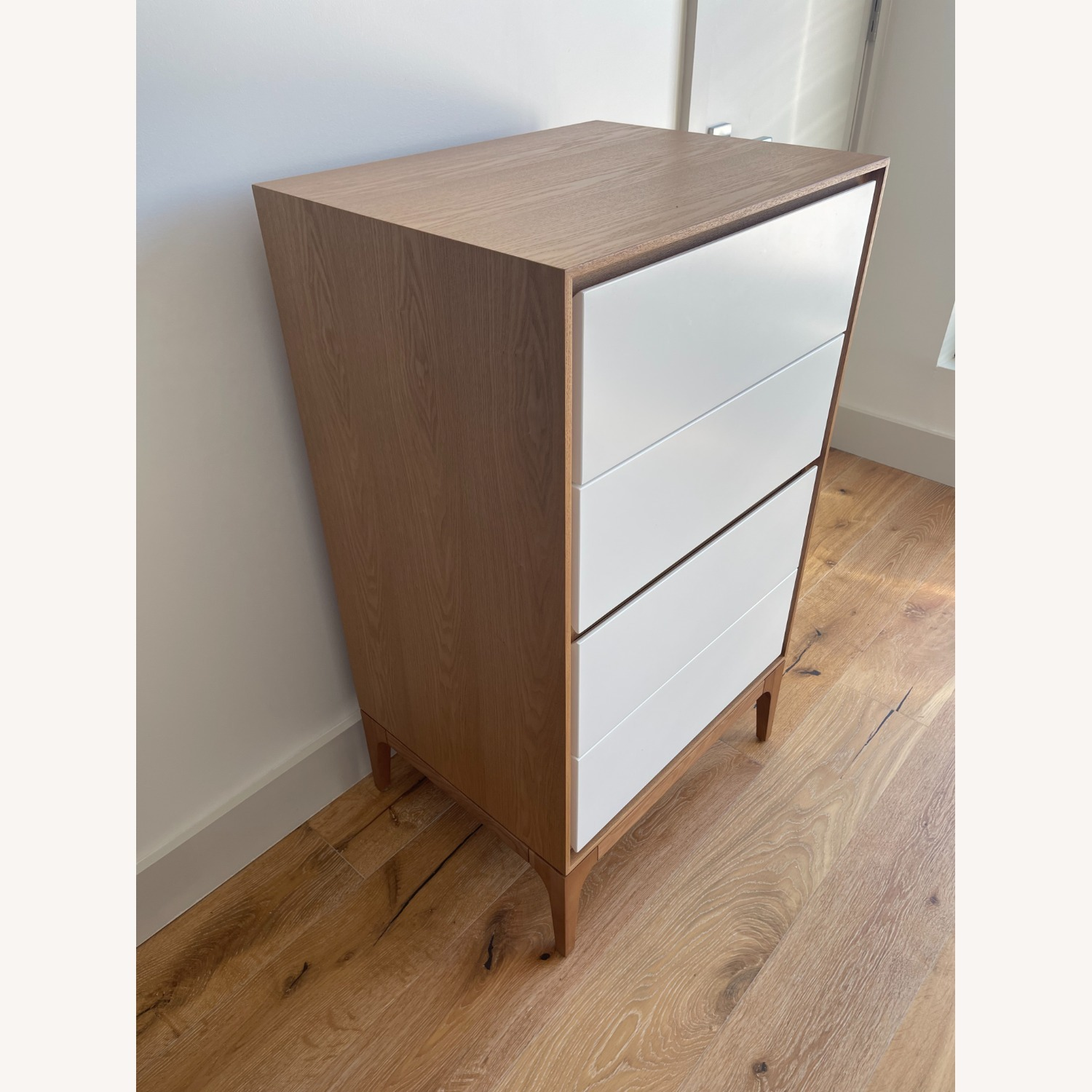 Rove Concepts 2X Wooden Dressers with White Drawers - image-3
