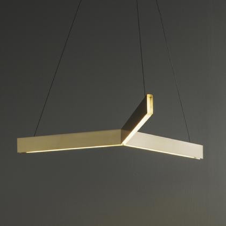 Design Within Reach Geometric Tri LED Pendant Lights - image-4
