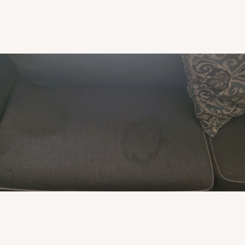Bob's Discount Gray Sofa - image-5