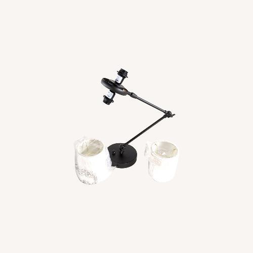 Used Rejuvenation Cedar and Moss Conifer Lamp for sale on AptDeco