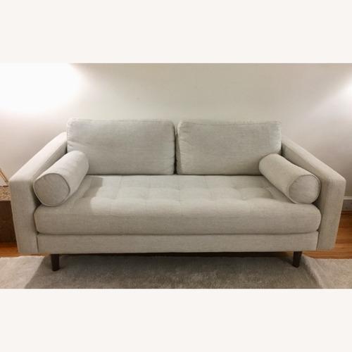 Used Poly and Bark Napa Fabric Sofa for sale on AptDeco