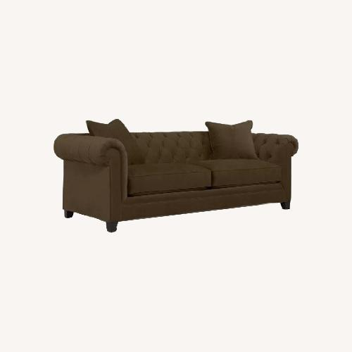 Used Martha Stewart Saybridge Brown Sofa for sale on AptDeco