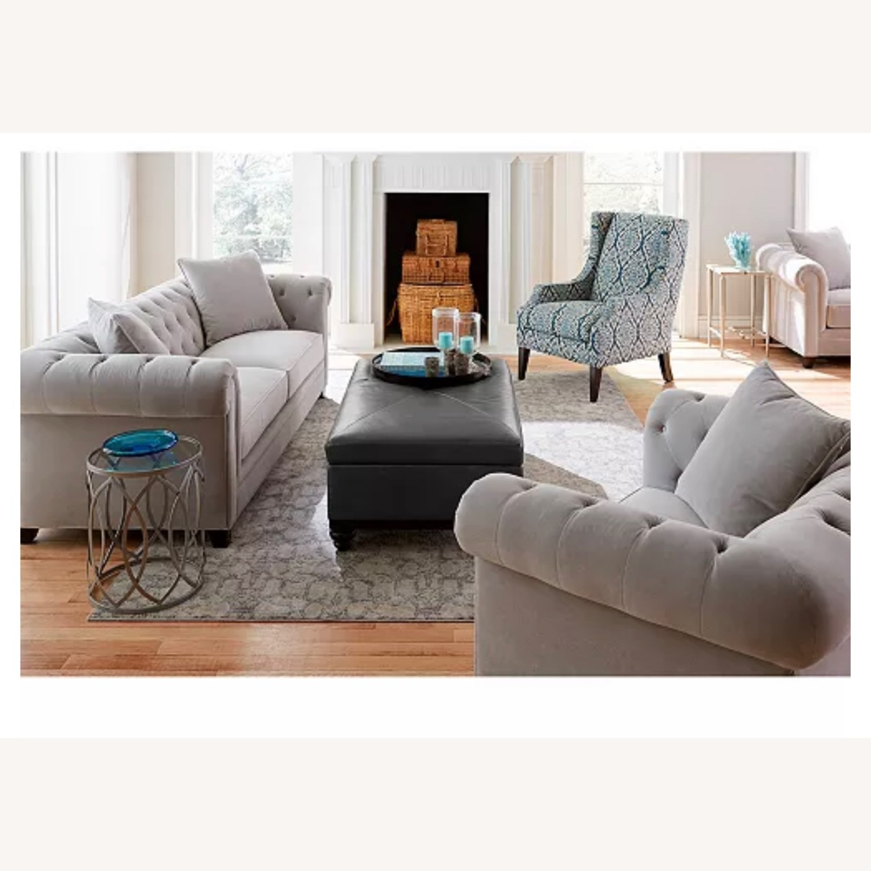 Martha Stewart Saybridge Cornflower Blue Chair - image-2