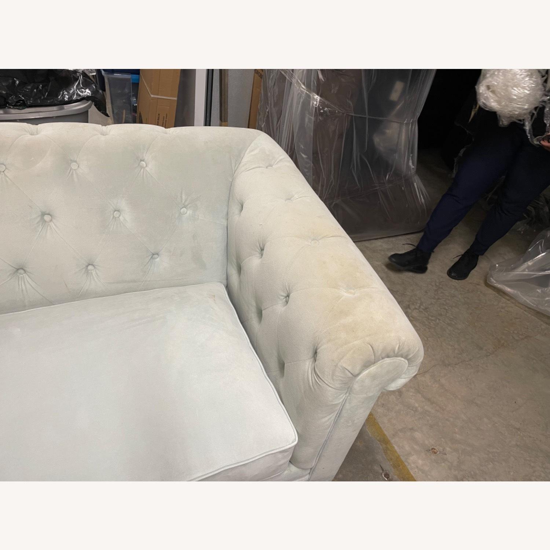 Martha Stewart Saybridge Cornflower Blue Chair - image-8