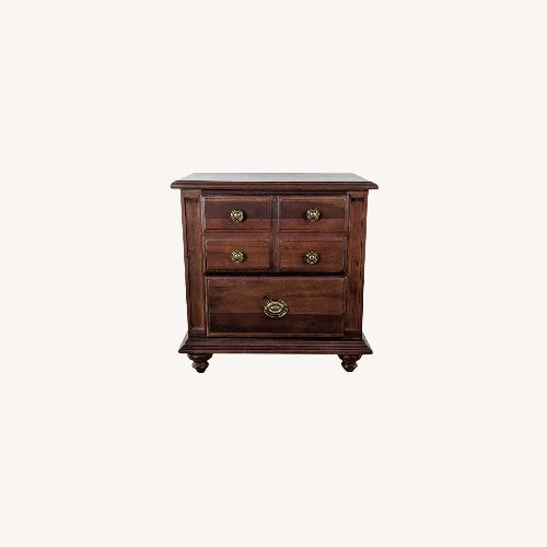 Used Pair of Broyhill Wooden Nightstands for sale on AptDeco