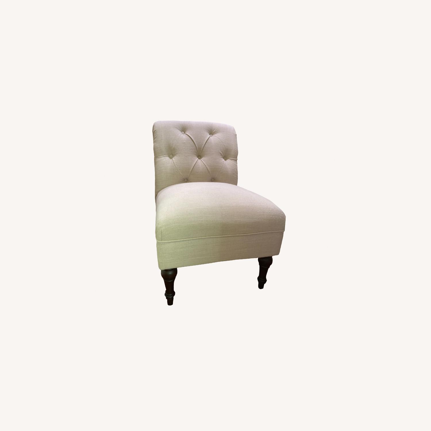 Target Beige Cushioned Chair - image-0