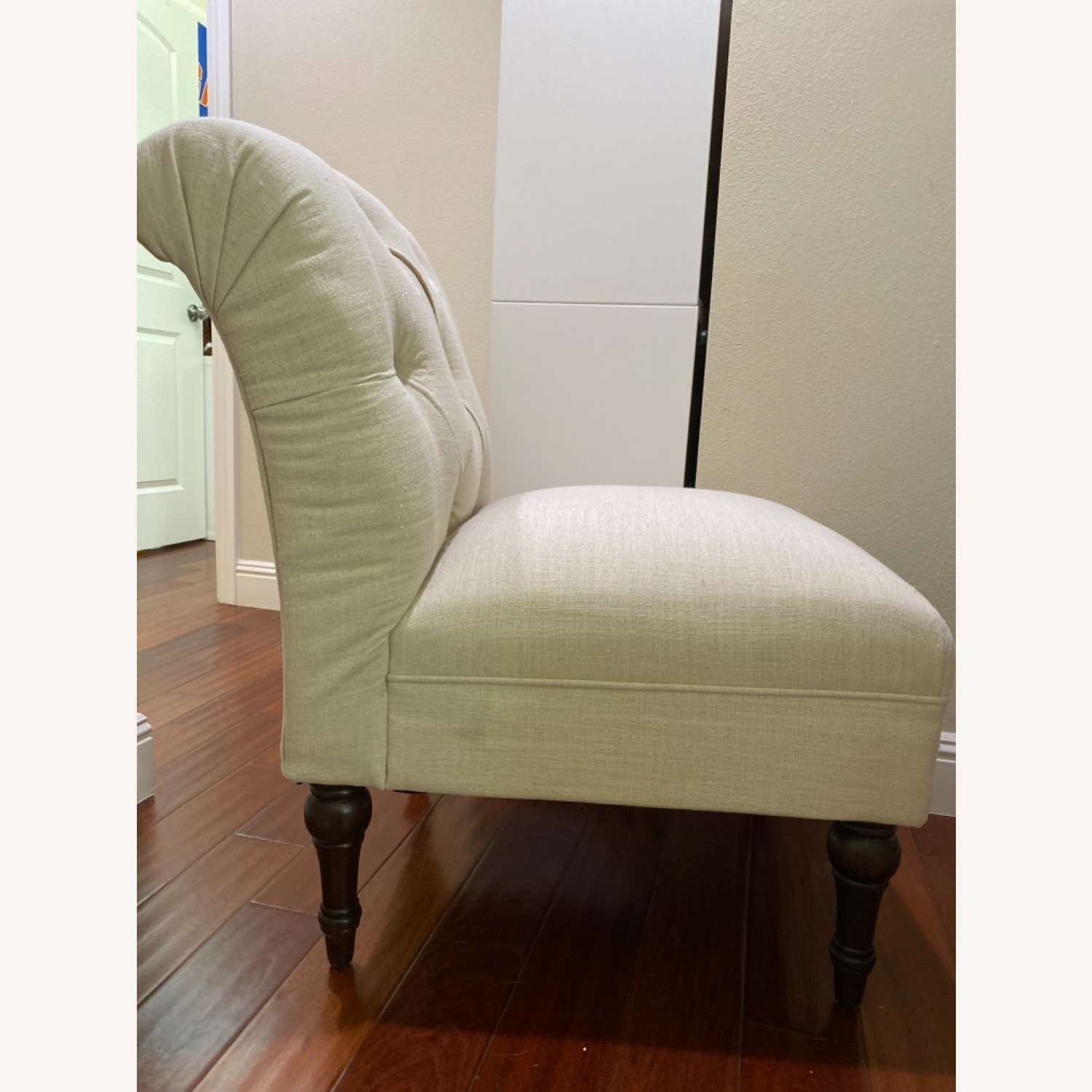 Target Beige Cushioned Chair - image-2