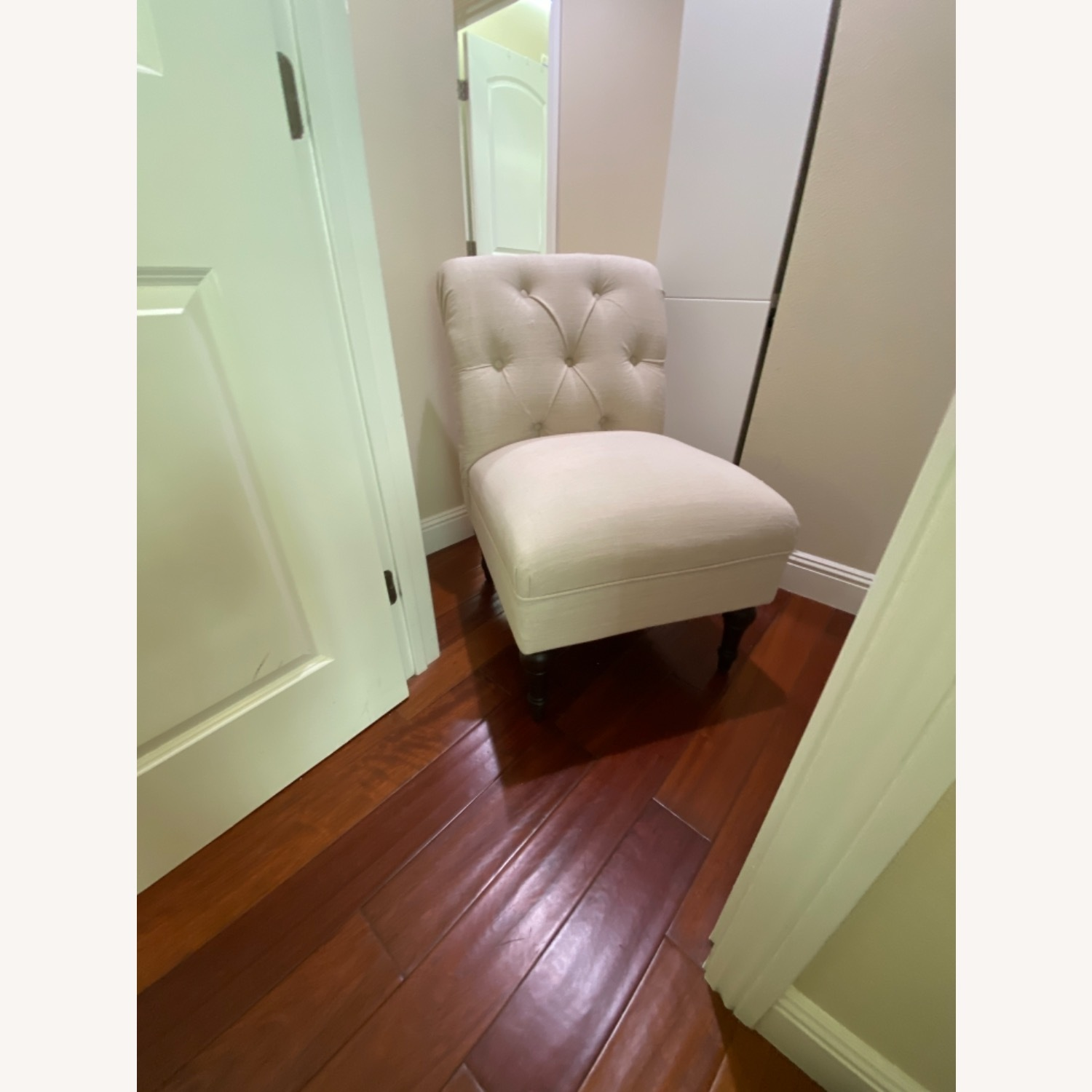 Target Beige Cushioned Chair - image-3