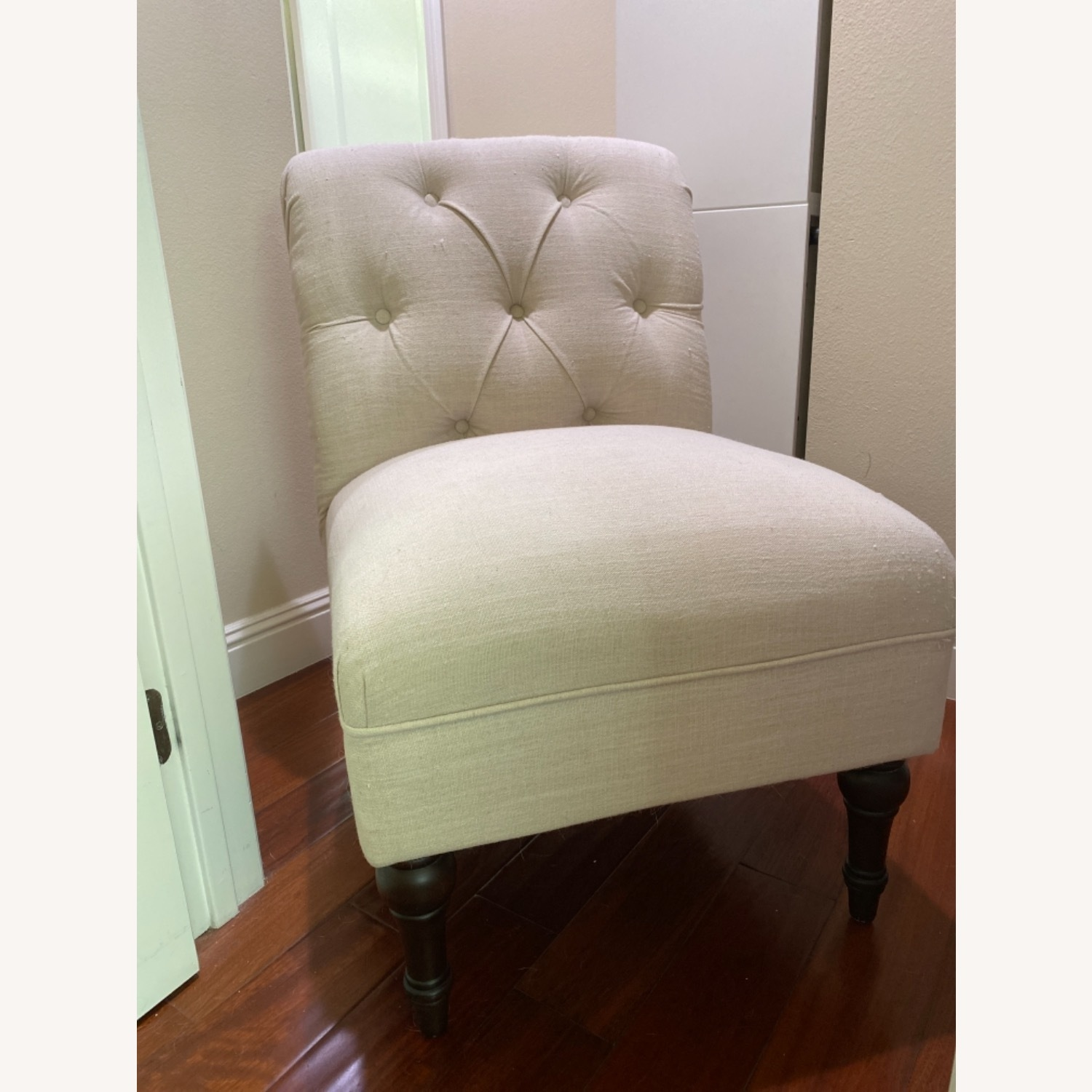 Target Beige Cushioned Chair - image-1