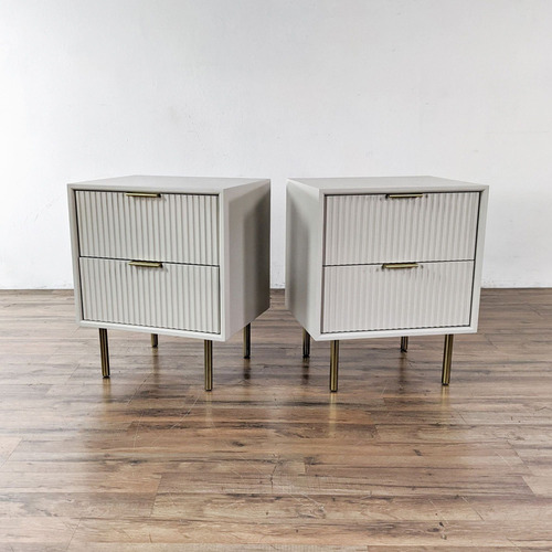 Used Williams Sonoma Pair of Nightstands for sale on AptDeco