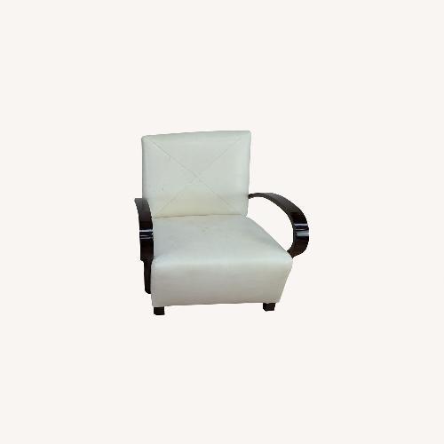 Used Pair of Vintage Nancy Corzine Armchairs for sale on AptDeco