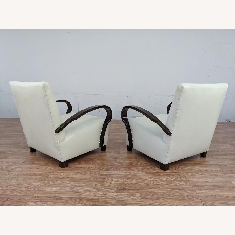 Pair of Vintage Nancy Corzine Armchairs - image-3