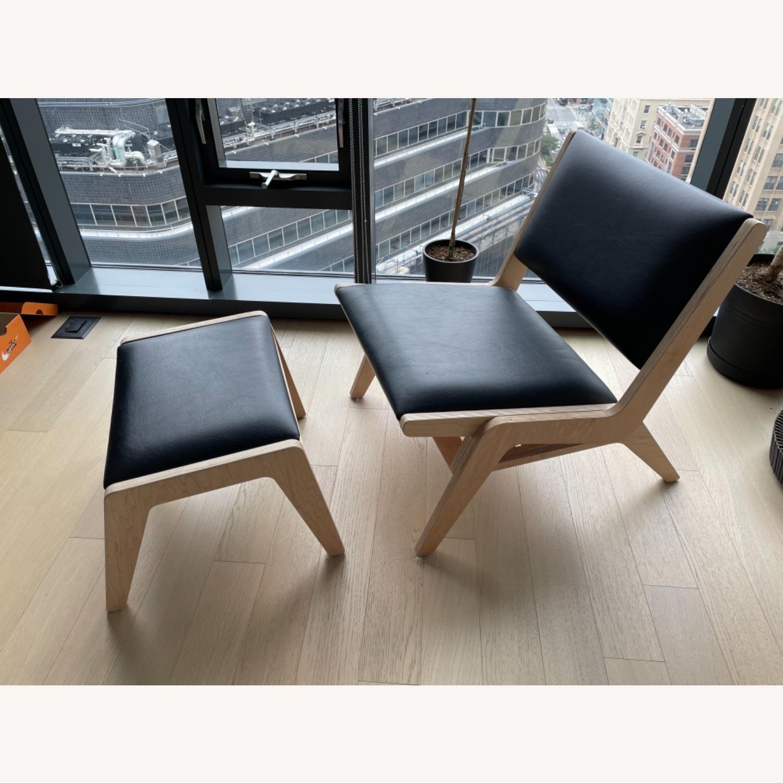 Inside Weather Usonia Edgar Lounge Chair - image-2