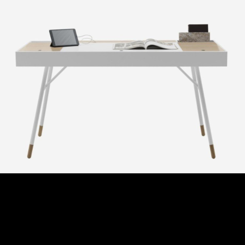 BoConcept Modern White Desk - image-1