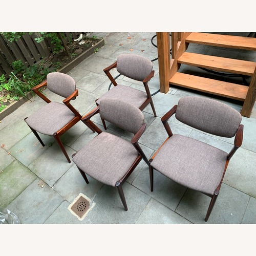 Used Kai Kristiansen Rosewood Dining Chairs for sale on AptDeco