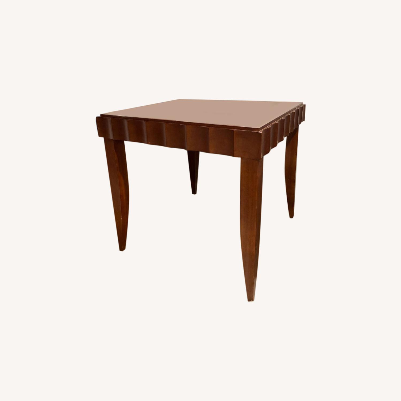 Baker Furniture Wood Side Table - image-0