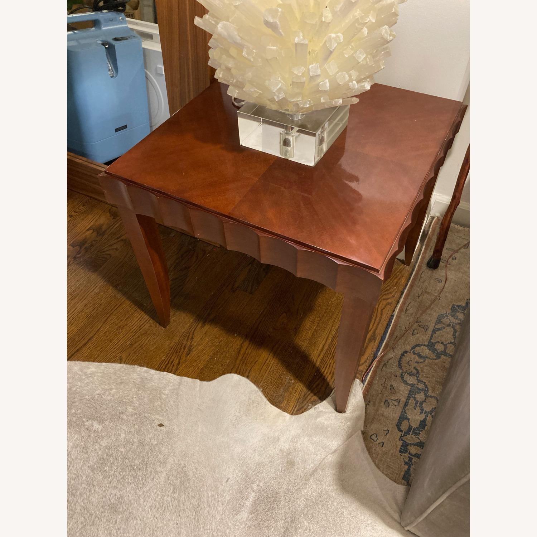 Baker Furniture Wood Side Table - image-2