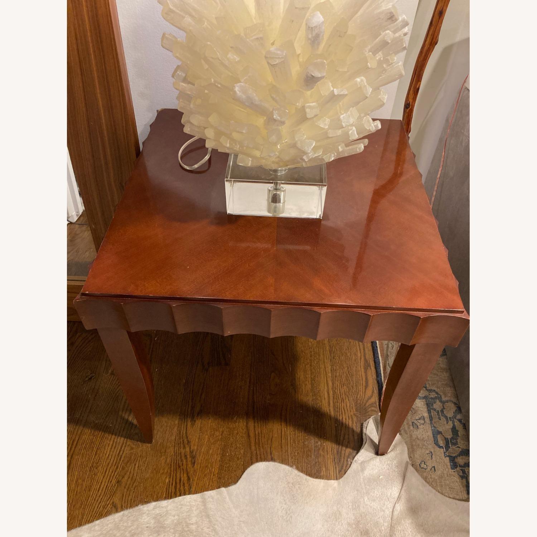 Baker Furniture Wood Side Table - image-4